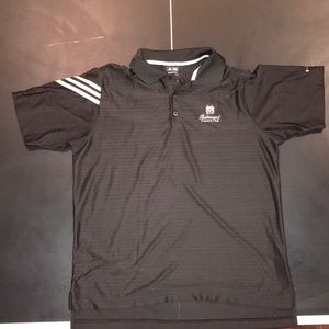 Pair Of Adidas Men's Belmont Golf Shirts